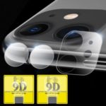 HD Explosion-proof 9D Tempered Glass Camera Lens Protector Set for iPhone 11 6.1 inch