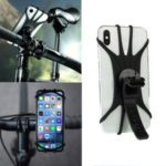 Universal Bicycle Electric Vehicle Motorcycle Hand Bars Bracket Phone Holder for iPhone 11 Pro Max 6.5 inch, etc