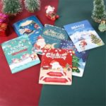 AR Virtual Imaging Technology Christmas 3D Stereo Greeting Card Creative DIY Thanksgiving Blessing Card