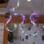 100-LED Star Tree Rattan Lamp String Christmas Decor Garden Branch Strip Light – Colorful/US Plug