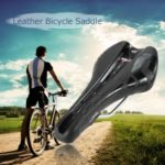 Bike Saddle Professional MTB Cycling Seat Saddle Bicycle Parts Leather Bicycle Saddle Road Team