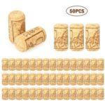 Wine Bottle Stopper Oak Wine Corks 40*21mm – 50Pcs/Set