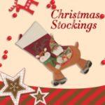 Creative Christmas Candy Bag Christmas Socks Gift Bag Christmas Tree Pendant – Red/Style 1