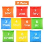 10PCS Primary Educational Corn Bag Cornhole Gym Class Playing Toy Sandbag