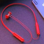 Q7 Sports Wireless Bluetooth 4.2 Neckband Headset with Microphone – Red