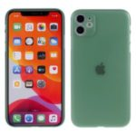 Ultra-thin Plastic Mobile Phone Case for iPhone 11 6.1-inch – Green