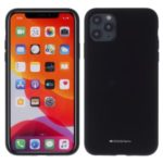 MERCURY GOOSPERY Silicone Phone Protective Protective Case for iPhone 11 Pro Max 6.5-inch – Black