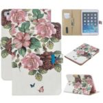 Pattern Printing PU Leather Flip Stand Tablet Shell for iPad mini (2019) 7.9 inch/mini 4 3 2 1 – Pink Flower