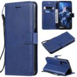 Wallet Leather Stand Case for Huawei Honor 20 / nova 5T – Blue