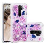 Liquid Glitter Powder Patterned Quicksand Shockproof TPU Phone Case for Xiaomi Redmi Note 8 Pro – Diamond