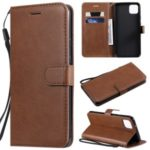 Wallet Leather Stand Case for Google Pixel 4 XL – Brown