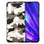 For OPPO Realme 5 Camouflage Style Pattern TPU Casing – White