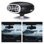 Car Auto Cigarette Lighter 2-in-1 Heater Cooling Fan Defroster Demister 12V 300W