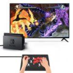 JYS Arcade Combat Stick Joystick Game Controller for PC X-input/Nintendo Switch