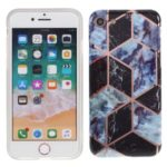 Marble Pattern IMD TPU Back Case for iPhone 8/7 – Style A