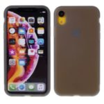 Soft Liquid Latex Silicone Phone Case for iPhone XR 6.1-inch – Grey