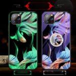 Luminous Tempered Glass PC + TPU Hybrid Case for Xiaomi Mi CC9 Pro – Fish