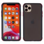 Drop Resistant PC + TPU Combo Cover with Matte Surface for iPhone 11 Pro Max 6.5 inch – Black