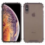 Drop-resistant Clear Protective TPU Mobile Phone Case for iPhone X/XS 5.8 inch – Grey