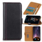 Litchi Texture Wallet Flip Leather Case for iPhone 11 Pro Max 6.5 inch – Black
