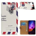 Pattern Printing Wallet Stand Flip Leather Phone Case for Samsung Galaxy S11e – Envelope