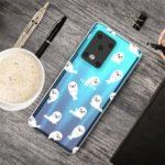 IMD Pattern Printing Soft TPU Phone Cover for Samsung Galaxy S11 Plus – Mini Dolphin