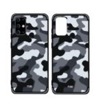NXE Camouflage Pattern TPU Cell Phone Case for Samsung Galaxy S11 6.7 inch – Grey