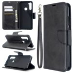 PU Leather Wallet Stand Case Cover for Xiaomi Redmi Note 8T – Black