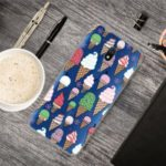 Pattern Printing IMD TPU Clear Phone Shell for Xiaomi Redmi 8A – Ice Cream