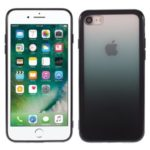 Gradient Color Plastic + TPU Phone Shell for iPhone 7/8 4.7 inch – Black