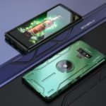 Kickstand Metal Cell Phone Cover Case for Samsung Galaxy Note9 N960 – Green