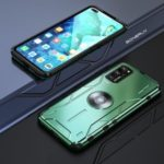 Drop-proof Metal Silicone Combo Shell for Huawei Honor View 30/V30 – Green