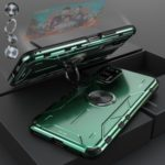 Drop-proof Kickstand Metal Silicone Combo Case for Huawei Honor View 30 Pro/V30 Pro – Green