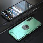 Magic Shield Series Drop-proof Metal + Silicone Phone Case for Huawei Nova 5 Pro – Green