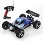 WLTOYS A959 1:18 2.4Ghz Off Road RC Car 4WD 45KM/H High Speed Vehicle Racing Buggy Car RTR – Blue