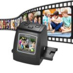 High-Resolution 14MP/22MP Film Scanner 2.4″ LCD Screen Built-in 128M Memory