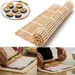 Natural Bamboo Sushi Rice Roll Maker Tool Roller DIY Kit Rolling Mat