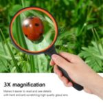Magnifying Glass Tool Reading Magnifier Handheld Glass – 3X Magnifying