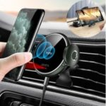 TOTU CMCW-040 15W Quick Charge Infrared Car Phone Holder Wireless Charger