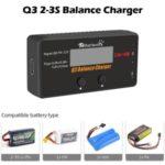 Rcharlance Q3 2-3S Balance Charger Li-Po/ Li-HV/ Li-Ion/ Li-Fe RC Battery Balance Digital Discharger