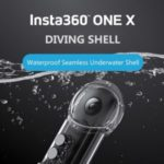 IPX8 30 Meters Waterproof Insta360 ONE X Camera Camera Diving Shell Case Housing