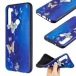 Pattern Printing Embossed TPU Phone Case for Xiaomi Redmi Note 8T – Butterfly Pattern