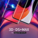 NILLKIN 3D DS+MAX Full Glue Curved Tempered Glass Film for Xiaomi Mi 10/Mi 10 Pro
