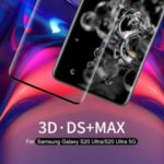 NILLKIN 3D DS+MAX Full Glue Curved Tempered Glass Film for Samsung Galaxy S20 Ultra