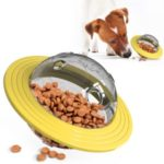 For Dog Pet Outside Fun Playing Toy Bowl – Yellow