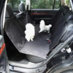 Waterproof Pet Mat Car Back Seat Dog Protector Pad Cushion – Black