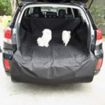 Pet Mat Waterproof Car Trunk Dog Protector Pad Cushion – Black