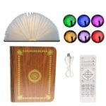 SQ203 Colorful LED Book Light Muslim Learning Quran Bluetooth Speaker with Remote Control