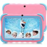 Android 9.0 Children's Tablet PC 7-inch IPS HD Screen 1GB + 16GB WiFi Dual Camera – Pink