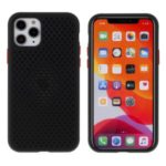 Hollow Mesh Heat Dissipation TPU Back Case for iPhone 11 Pro 5.8 inch – Black